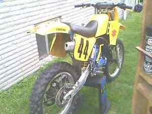 1989 RM125J Great shape. Original paint. Cornwall Ontario image 1
