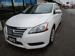 2013 Nissan Sentra S Sedan ONE OWNER,NO ACCIDENT,CERTIFIED,BLUET