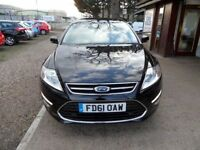 FORD MONDEO 1.6 TITANIUM X TDCI 5d 114 BHP 1 OWNER FROM NEW (black) 2012
