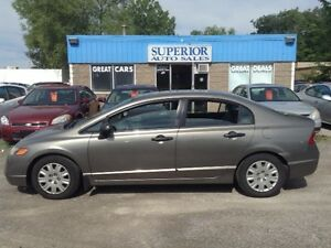 2007 Honda Civic Sdn DX-G Fully Certified and Etested!
