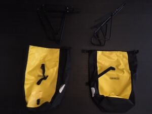 Ortlieb Bags + Front and Back Racks for bicycle touring