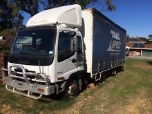 Isuzu FRR500 LWD 4 x 2 Curtainsider SITEC 190 Hp 6 cyl Fremantle Fremantle Area Preview