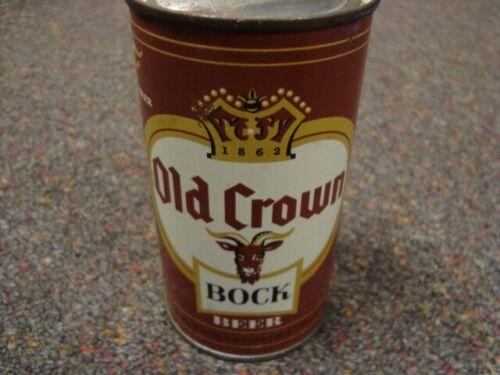 Old Crown Bock Flat Top Can, Centlivre Brewing, Fort Wayne, Indiana