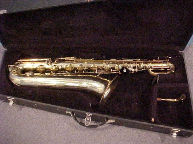 Vintage German made Bundy Baritone Saxophone in Good Used  Condition