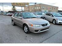 2001 Toyota Corolla LE---Certified---E-Tested---2 Year Warranty