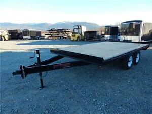 NEW  14' X 8.5' WIDE DECKOVER TRAILER 7,000LB GVW