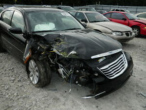 2012 CHRYSLER 200 **COMPLETE PART OUT** BLACK Kitchener / Waterloo Kitchener Area image 2