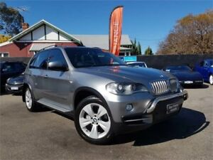 2007 BMW X5 E70 4.8I Grey 6 Speed Auto Steptronic Wagon Mount Hawthorn Vincent Area Preview