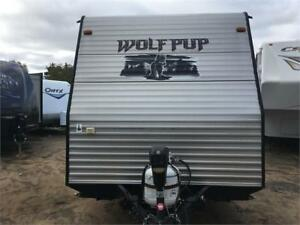 Roulotte usagée Wolfpup 2014 24 pieds 17-1487