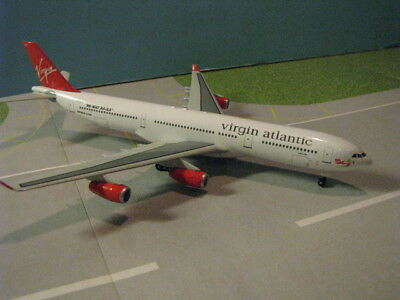 Dragon Wings Virgin Atlantic  Lady In Red  A340 311 1 400 Scale Diecast Model