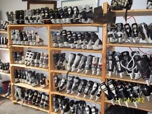 "Need Skates? We Have Them! ""The Skateman is on Parkland - We Know the Game"""