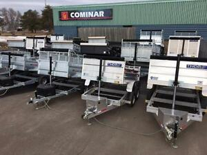 WORK & PLAY DUMP TRAILERS - IN STOCK