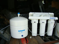 4 STAGE REVERSE OSMOSIS WATER SYSTEM
