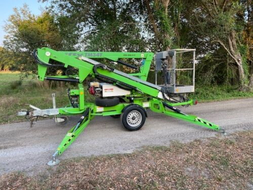 NIFTY TM34T TOWABLE BOOM TELESCOPIC LIFT HYDRAULIC OUTRIGGERS MAN LIFT