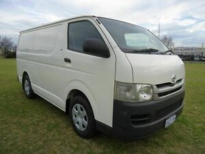 2010 Toyota Hiace KDH201R MY10 LWB White 5 Speed Manual Van Embleton Bayswater Area Preview