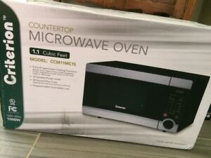 Brand new Criterion Microwave