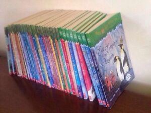 35 Magic Tree House books