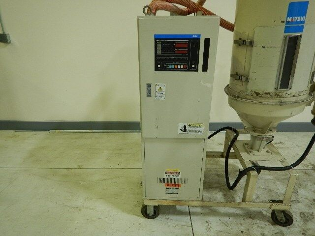 Matsui DMZ-80 Dryer, Desiccant, Approx 75 lb/hr, Yr. 1999, ZAG # 7680