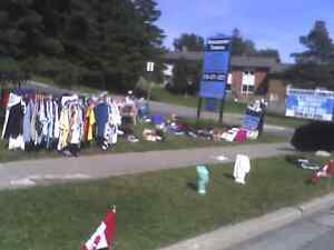Sale of a century yard sale