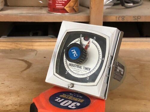 Industrial timer, GP-2   5 hour,10A, 120/240 V