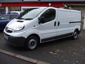 Vauxhall Vivaro 2.0CDTi 115ps 2900 LWB Renault Trafic Van Master Movano,40,150 K