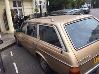Mercedes - restoration project