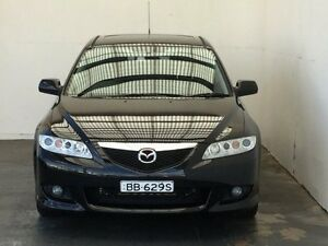 2003 Mazda 6 GG1031 Luxury Sports Black 4 Speed Sports Automatic Hatchback Mount Gambier Grant Area Preview