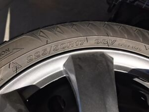 Winter Tires and Rims for Sale!! 225/50R17 98V Extra Load