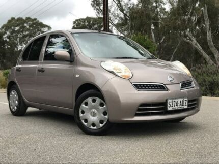 2009 Nissan Micra Beige Automatic Hatchback Hahndorf Mount Barker Area Preview