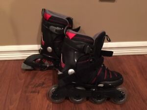K2 Hero boys Rollerblades adjustable from sizes 1 to 5.