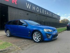 2009 Holden Special Vehicles ClubSport E Series MY09 R8 Tourer Voodoo Blue 6 Speed Sports Automatic Mayfield West Newcastle Area Preview