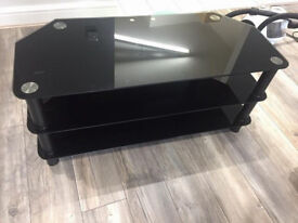 GLASS TV STAND / TABLE FOR QUICK SALE --- CHEAP