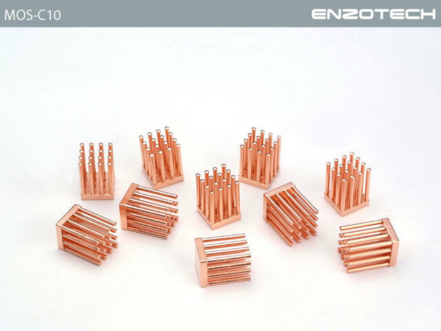 Enzotech MOS-C10 MOSFET Cooler (Pack of 10pcs)