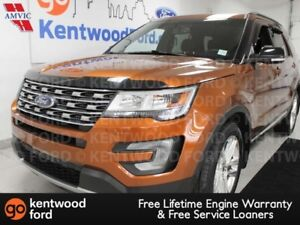 2017 Ford Explorer XLT 4WD, NAV, heated power seats, power liftg