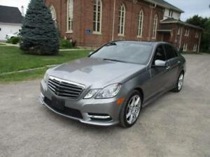 2012 Mercedes-Benz E 550 - Pano-Navi-Loaded-winter&summer wheels
