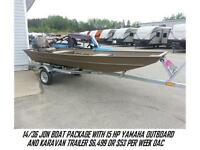 SUPER DEALS ON BOAT PKGS FROM $6099,