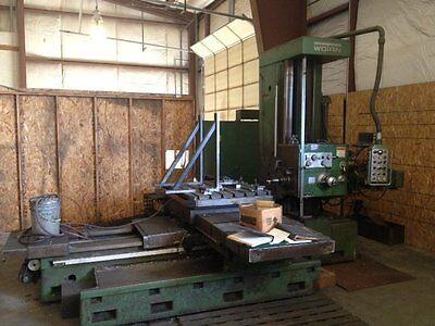 4 Wotan Model B-105m Table Type Horizonal Boring Mill