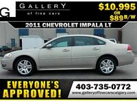 2011 Chevrolet Impala LT V6 $89 bi-weekly APPLY NOW DRIVE NOW