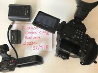 Canon C100 MK II Video camera
