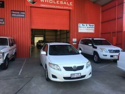 2008 Toyota Corolla ZRE152R Ascent White 4 Speed Automatic Sedan Clontarf Redcliffe Area Preview