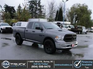 2013 DODGE RAM 1500 QUAD CAB 4X4 LEATHER *HEMI V8*