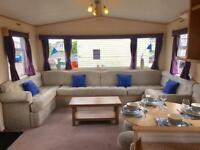 Great Value 3 Bed caravan ideal for school holidays pet friendly 12 month site