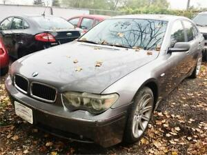 2004 BMW 745Li V8 LEATHER LOADED LUXURY!