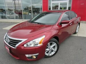2014 NISSAN ALTIMA 2.5 SV TECH PKG NAVIGATION ALLOYS H-SEATS SUN