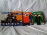 House TV series DVD Series 1 - 4