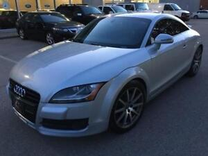 2008 AUDI TT 3.2L AWD SPT PKG/PADDLE SHFT/RED LEATHER/NO ACIDENT