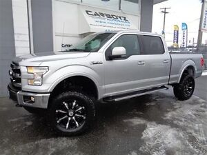 "2016 Ford F-150 Lariat Crew 6.5 Box, 6"" LIFT, Nav, Panoramic Roo"