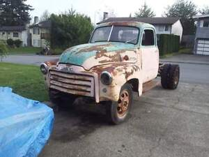 1950 GMC 3100 pickup. ( Project )