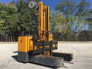 Electric Multi-Directional Sideloader Forklift