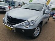 2011 Ssangyong Actyon Sports 100 Series MY11 Sports 4x2 Silver 6 Speed Automatic Utility Sylvania Sutherland Area Preview
